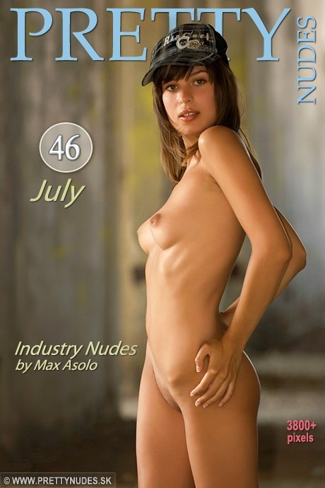 July - `Industry Nudes` - by Max Asolo for PRETTYNUDES