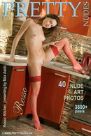 Rosso in Kitchen gallery from PRETTYNUDES by Max Asolo