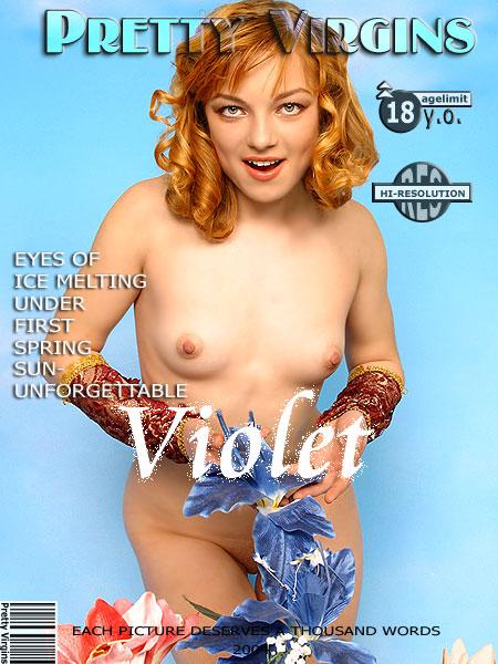 `Violet` - for PRETTYVIRGINS