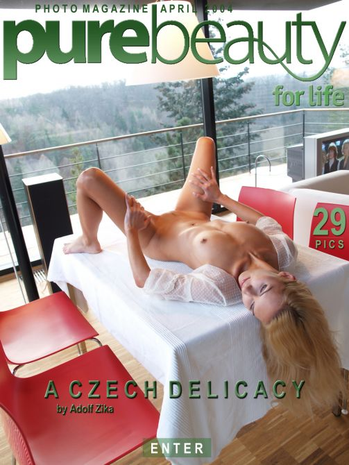 Lucie N in A Czech Delicacy gallery from PUREBEAUTY by Adolf Zika