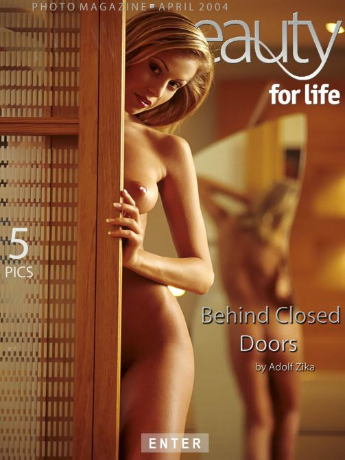 Denisa H - `Behind Closed Doors` - by Adolf Zika for PUREBEAUTY