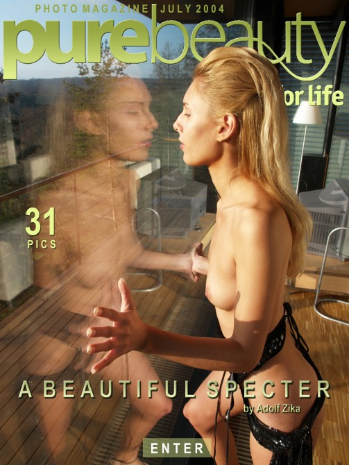 Lucie N in A Beautiful Specter gallery from PUREBEAUTY by Adolf Zika