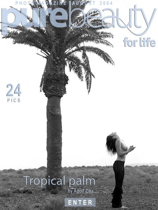 Stana - `Tropical Palm` - by Adolf Zika for PUREBEAUTY
