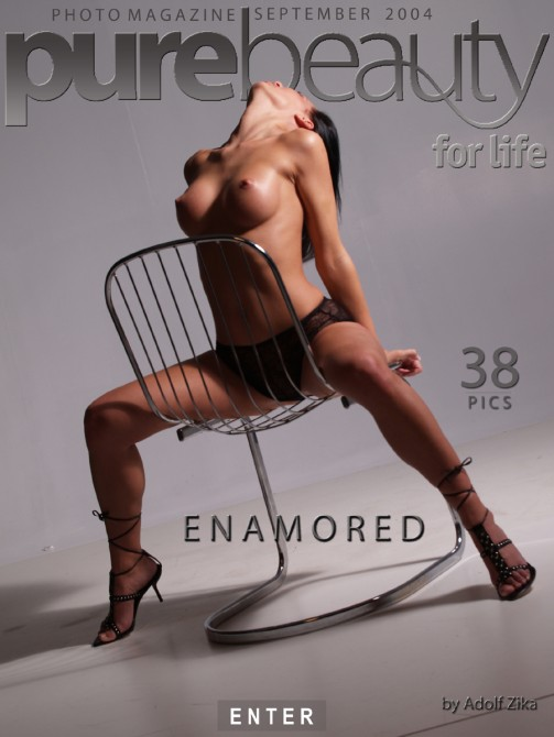 Ilona - `Enamored` - by Adolf Zika for PUREBEAUTY