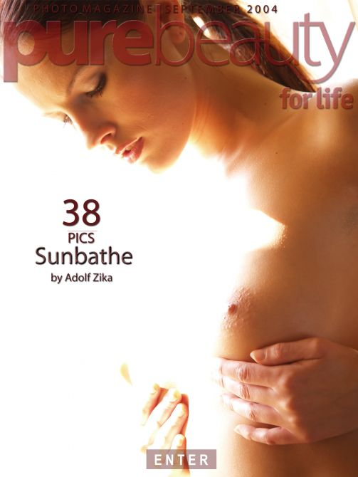 Deny in Sunbathe gallery from PUREBEAUTY by Adolf Zika
