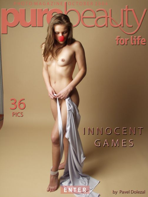 Kristyna - `Innocent Games` - by Pavel Dolezal for PUREBEAUTY