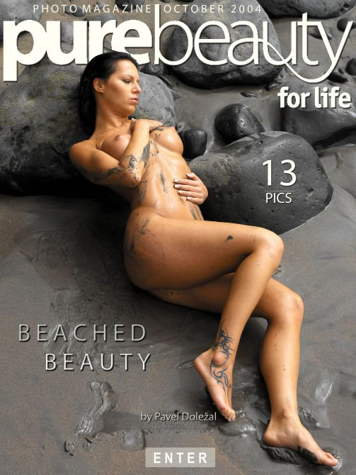 Ilona - `Beached Beauty` - by Pavel Dolezal for PUREBEAUTY