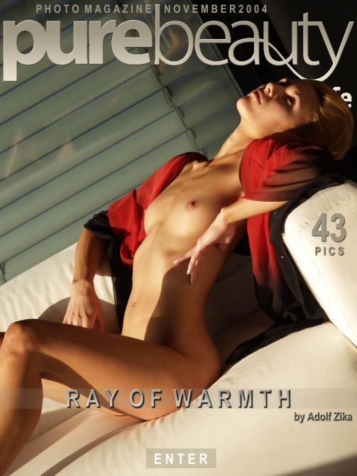 Lucie N in Ray Of Warmth gallery from PUREBEAUTY by Adolf Zika