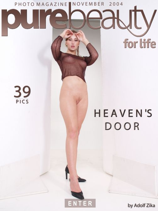 Eva M - `Heaven's Door` - by Adolf Zika for PUREBEAUTY