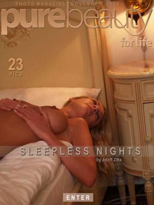 Katerina V - `Sleepless Nights` - by Adolf Zika for PUREBEAUTY
