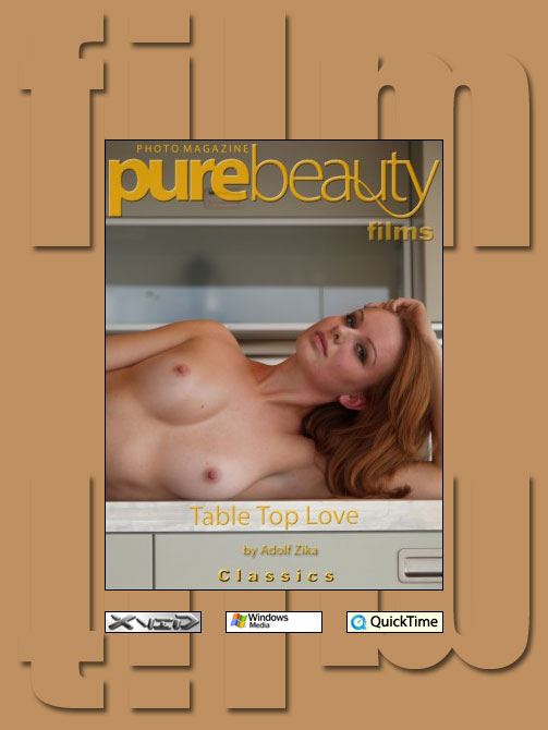 Sarka in Table Top Love video from PUREBEAUTY by Adolf Zika