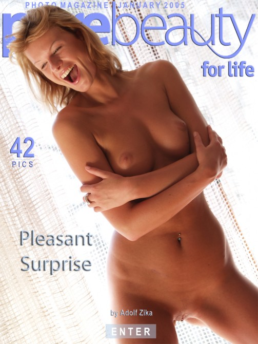 Angelika - `Pleasant Surprise` - by Adolf Zika for PUREBEAUTY