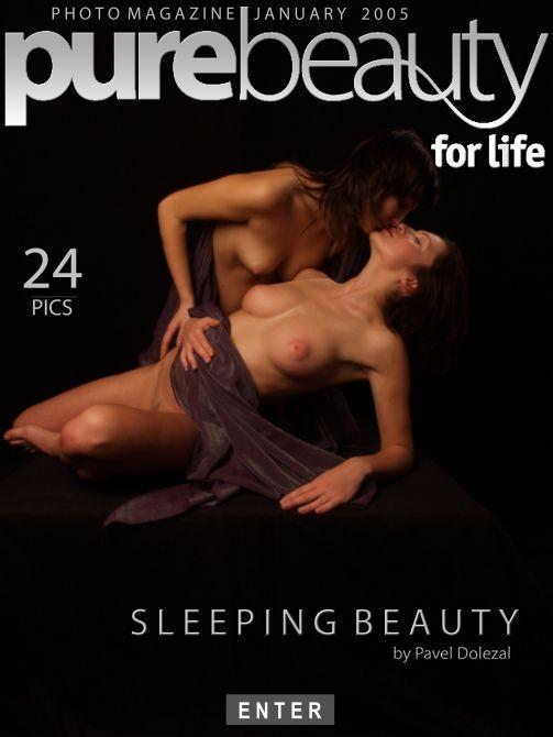 Alena & Beata in Sleeping Beauty gallery from PUREBEAUTY by Pavel Dolezal