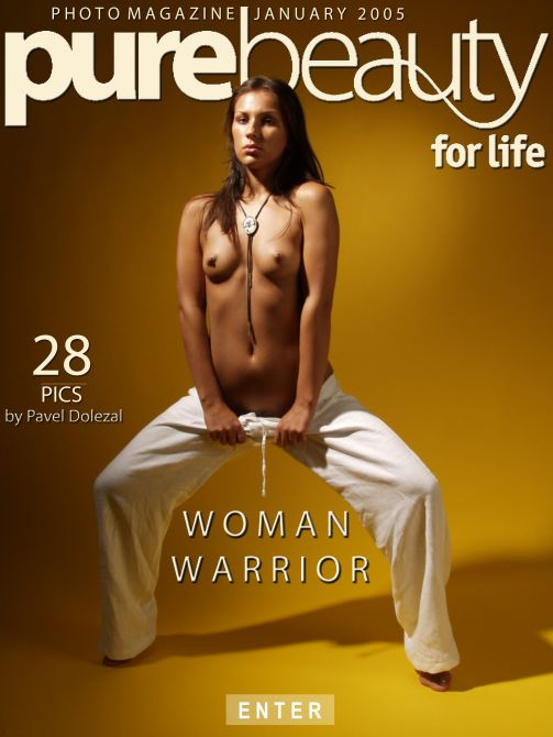 Kristyna in Woman Warrior gallery from PUREBEAUTY by Pavel Dolezal
