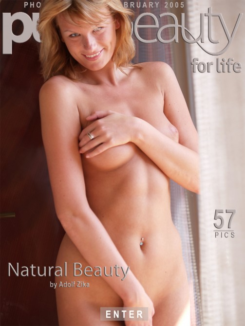 Angelika - `Natural Beauty` - by Adolf Zika for PUREBEAUTY