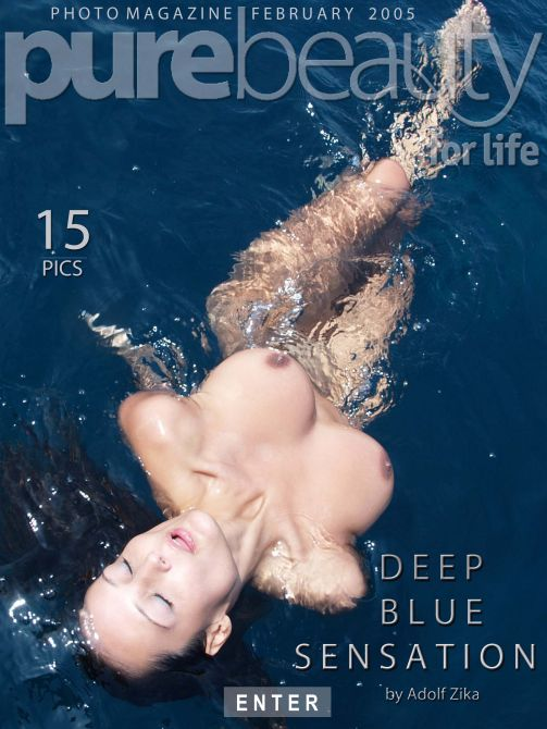 Bara - `Deep Blue Sensation` - by Adolf Zika for PUREBEAUTY
