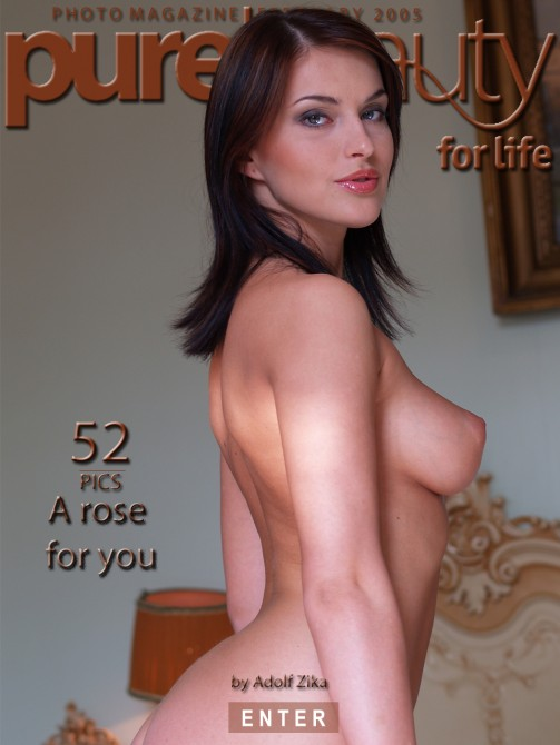 Victoria in A Rose For You gallery from PUREBEAUTY by Adolf Zika