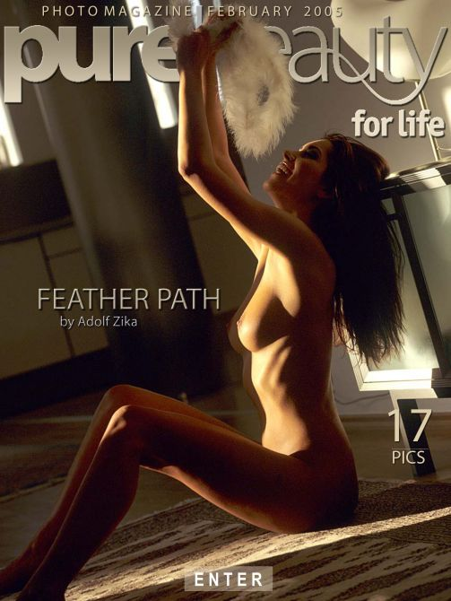 Stana - `Feather Path` - by Adolf Zika for PUREBEAUTY
