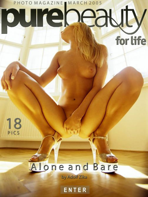 Zuzana - `Alone And Bare` - by Adolf Zika for PUREBEAUTY