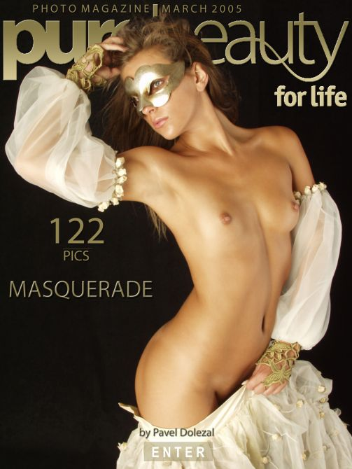 Kristyna in Masquerade gallery from PUREBEAUTY by Pavel Dolezal