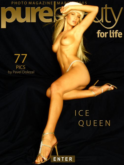 Jaroslava - `Ice Queen` - by Pavel Dolezal for PUREBEAUTY