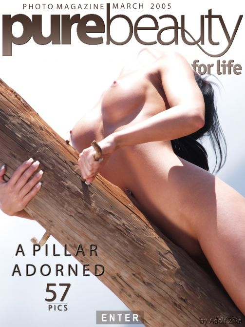 Ilona - `A Pillar Adorned` - by Adolf Zika for PUREBEAUTY