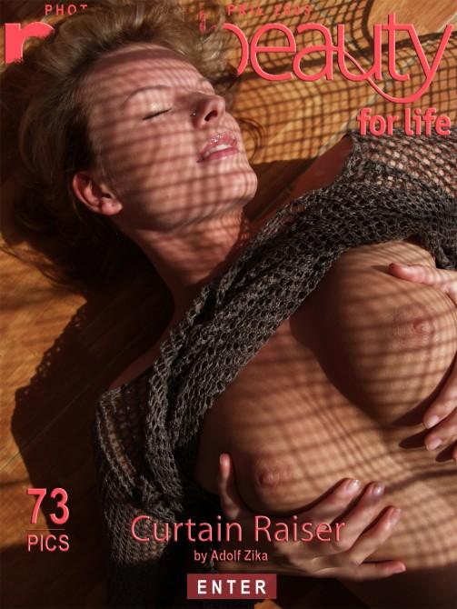 Angelika - `Curtain Raiser` - by Adolf Zika for PUREBEAUTY