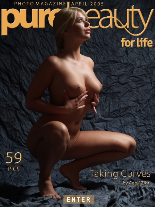 Kelly - `Taking Curves` - by Adolf Zika for PUREBEAUTY
