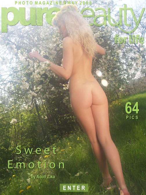 Katerina H - `Sweet Emotion` - by Adolf Zika for PUREBEAUTY