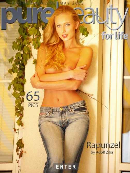Nicol H - `Rapunzel` - by Adolf Zika for PUREBEAUTY