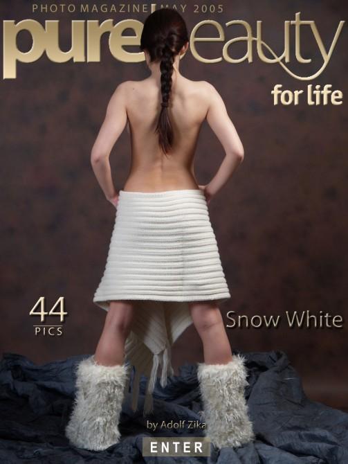 Zuzana in Snow White gallery from PUREBEAUTY by Adolf Zika