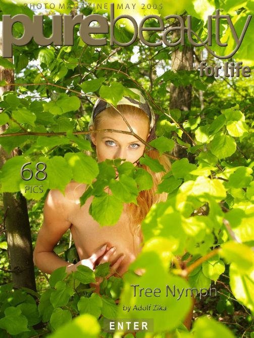 Nicol H - `Tree Nymph` - by Adolf Zika for PUREBEAUTY
