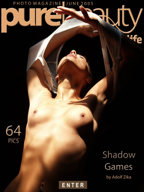 Anetta in Shadow Games gallery from PUREBEAUTY by Adolf Zika