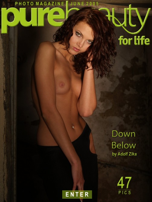 Jitka Branich - `Down Below` - by Adolf Zika for PUREBEAUTY