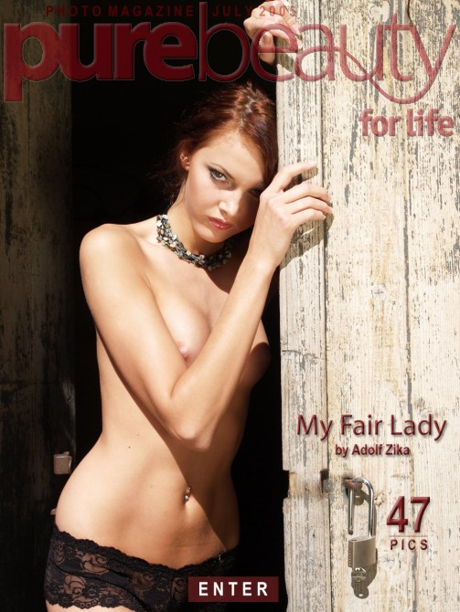 Jitka Branich - `My Fair Lady` - by Adolf Zika for PUREBEAUTY