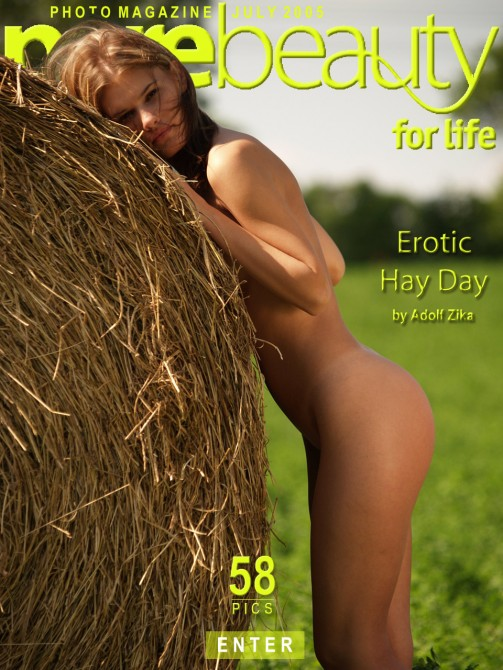 Michaela V - `Erotic Hay Day` - by Adolf Zika for PUREBEAUTY