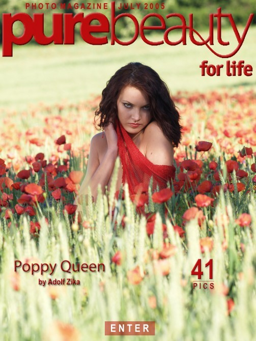 Jitka Branich in Poppy Queen gallery from PUREBEAUTY by Adolf Zika