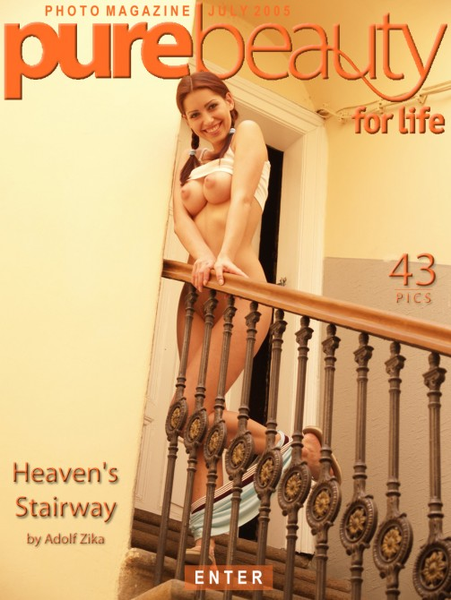 Stana in Heaven's Stairway gallery from PUREBEAUTY by Adolf Zika