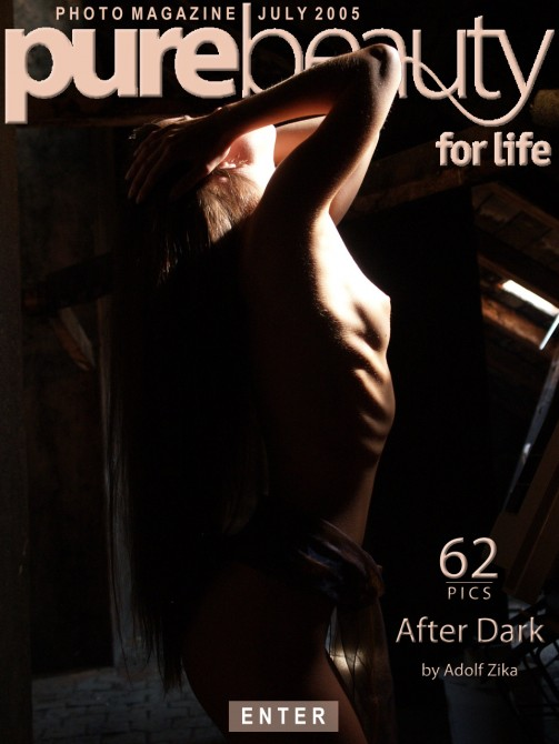 Michaela Ka in After Dark gallery from PUREBEAUTY by Adolf Zika