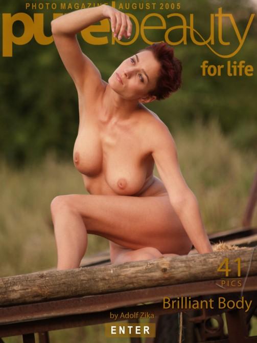 Katka P - `Brilliant Body` - by Adolf Zika for PUREBEAUTY