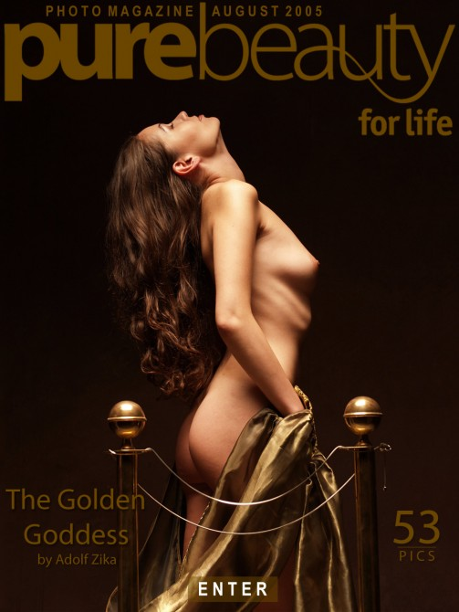 Erika Nasticka - `The Golden Goddess` - by Adolf Zika for PUREBEAUTY