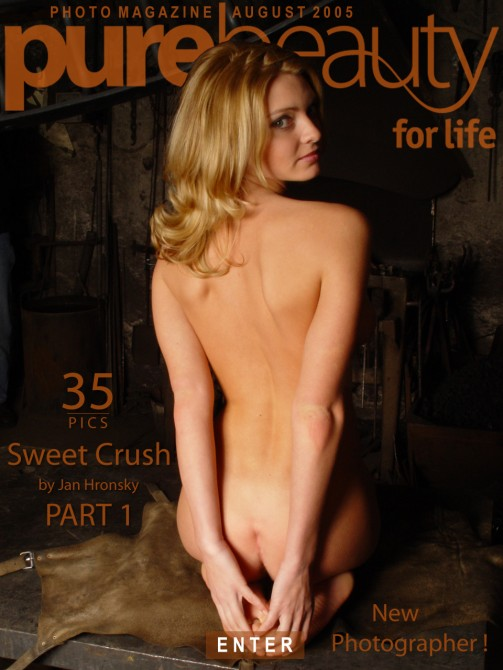 Michaela K - `Sweet Crush` - by Jan Hronsky for PUREBEAUTY