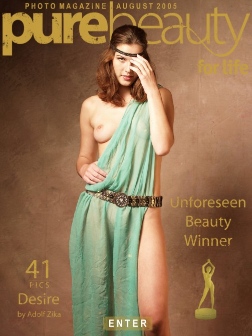 Lucie T in Desire gallery from PUREBEAUTY by Adolf Zika