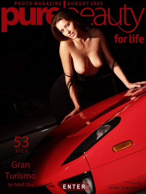 Stana in Gran Turismo gallery from PUREBEAUTY by Adolf Zika