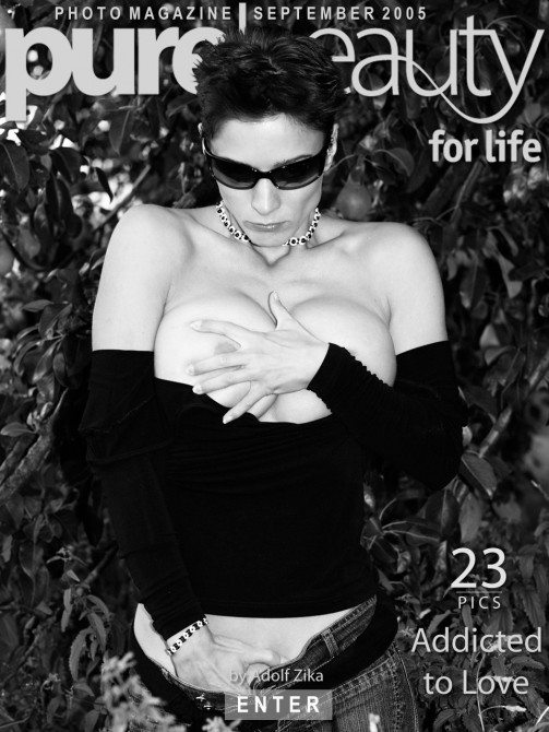 Katka P in Addicted To Love gallery from PUREBEAUTY by Adolf Zika