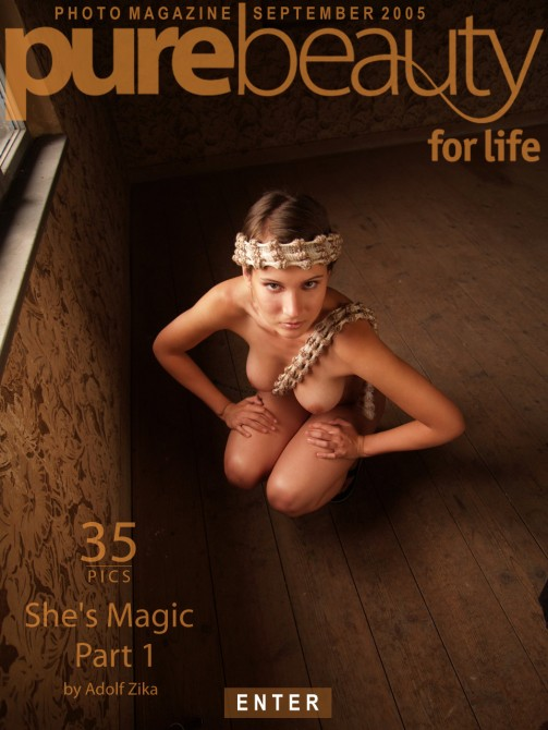 Michaela B - `She's Magic - Part 1` - by Adolf Zika for PUREBEAUTY