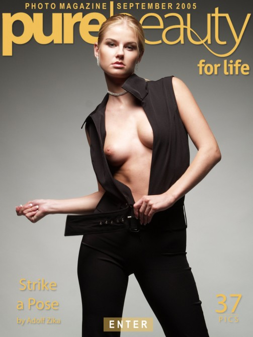 Laren H in Strike A Pose gallery from PUREBEAUTY by Adolf Zika