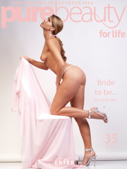 Veronika Stefan - `Bride To Be...` - by Adolf Zika for PUREBEAUTY
