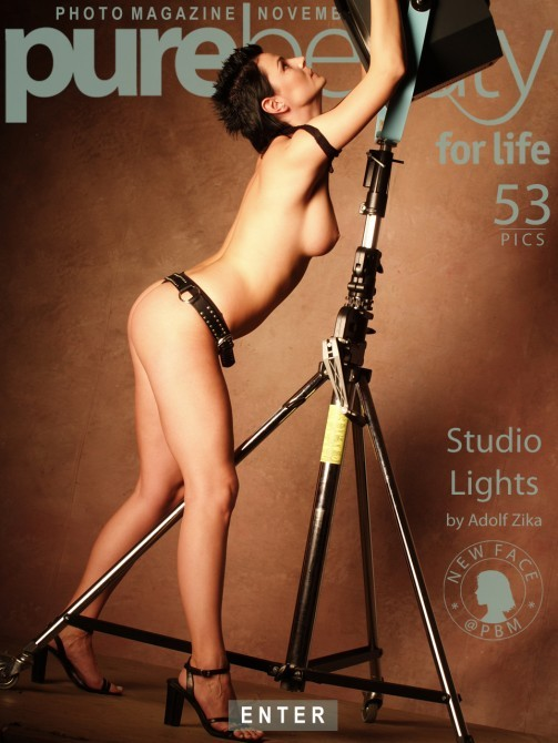 Avi Ivariova in Studio Lights gallery from PUREBEAUTY by Adolf Zika