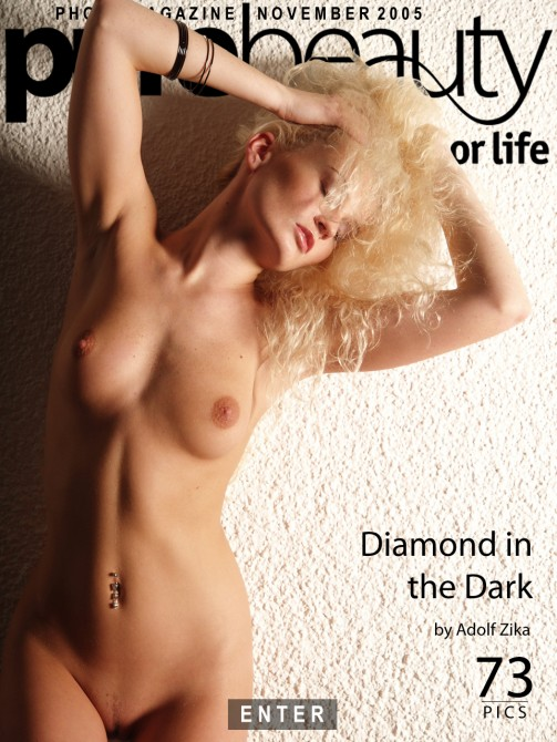 Katerina H - `Diamond In The Dark` - by Adolf Zika for PUREBEAUTY